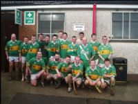 The Creggan team that defeated Newbridge Sarsfields