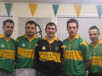 2008 Senior Jersey modeled by Mark Dougan, Joe Robb, Leon Bonnes, Hugh McKay & Adrian Dougan.