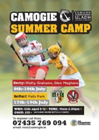 Summer Camogie Camp