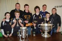 Some of last years Juvenile winners with Kerry & Kilkenny's finest!