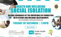 Social Isolation Health and wellbeing event